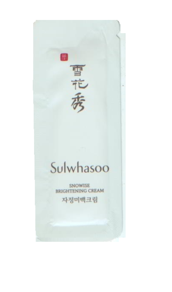 Sulwhasoo Snowise Brightening Cream 1ml