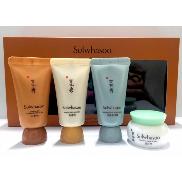 Sulwhasoo Mask Minikit 4 items