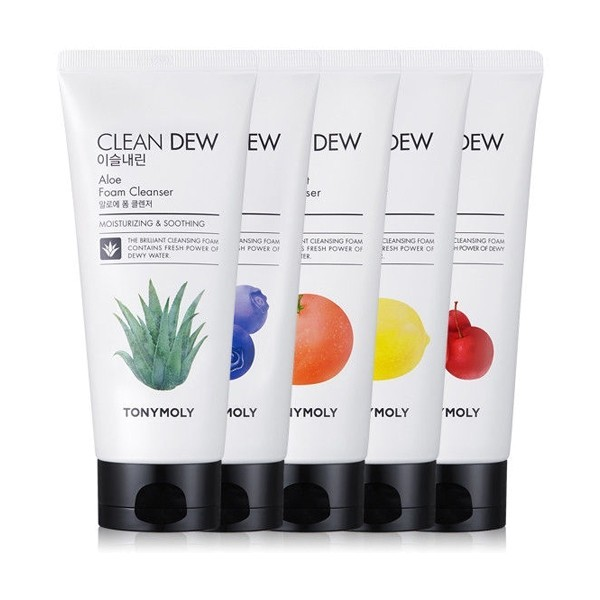 Tony Moly Clean Dew  Foam Cleanser 180ml