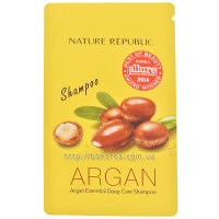 Nature Republic Argan Essential Deep Care Shampoo 12ml