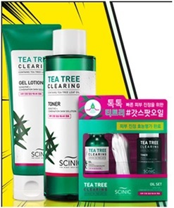 Scinic Tea Tree cleansing oil set