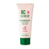 Etude House AC clean up pink powder mask 20ml