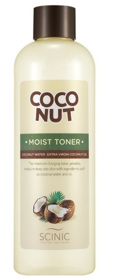 SCINIC COCONUT MOIST TONER 500ml