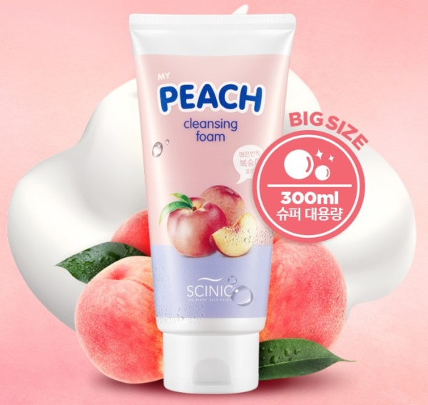 SCINIC MY PEACH CLEANSING FOAM 150ml