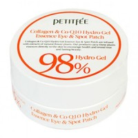 PETITFEE Collagen & Q10 Hydrogel Eye Patch 1.4gx60ea