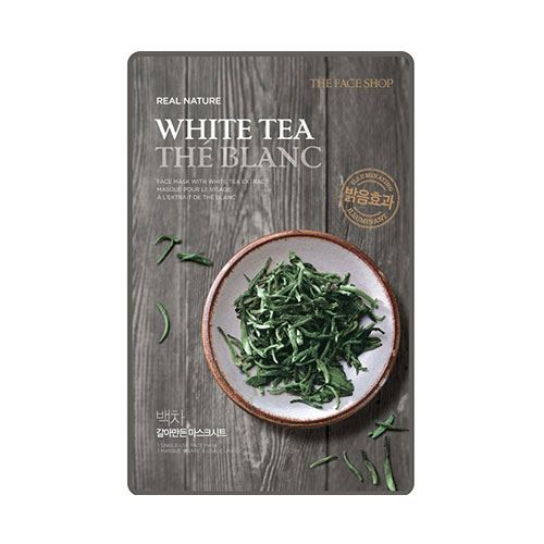 The Face Shop Real Nature Mask Sheet White Tea 20g