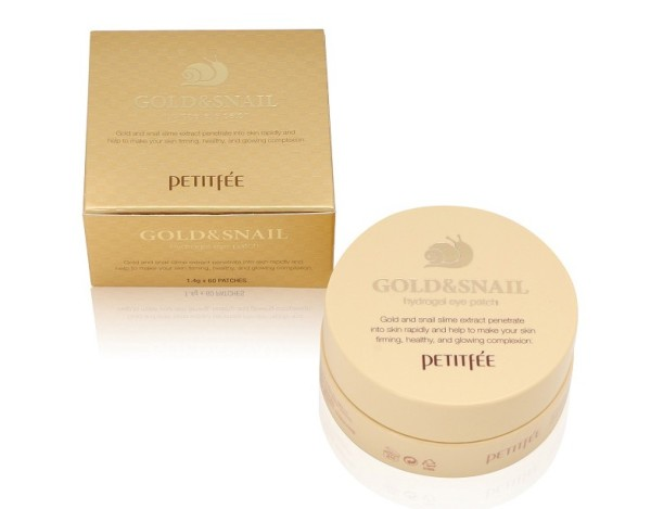 PETITFEE Gold & Snail Hydrogel  Eye Patch 1.4gx60EA