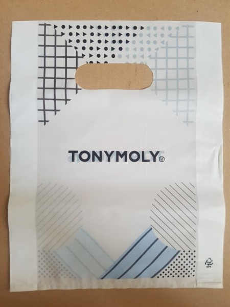 Tony Moly Plastic shopping bag M size пакет мал