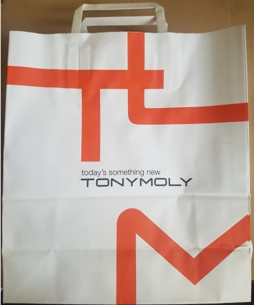 TonyMoly Paper shopping bag L size бум.красн