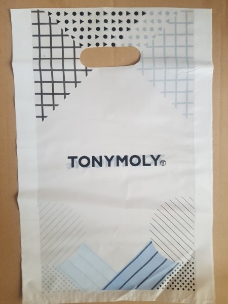 Tony Moly Plastic shopping bag L size пакет бол