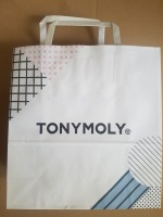 TonyMoly Paper shopping bag L size бум.син