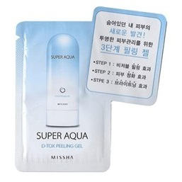MISSHA Super Aqua d-tox Peeling Gel 2ml