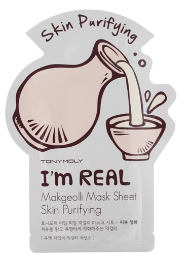 TONYMOLY I'm Real Mask Sheet #маколи