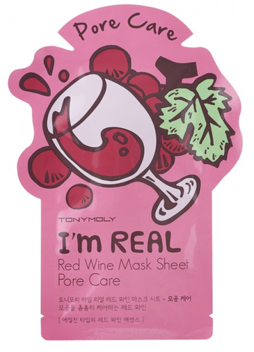 TONYMOLY I'm Real Mask Sheet #красное винo