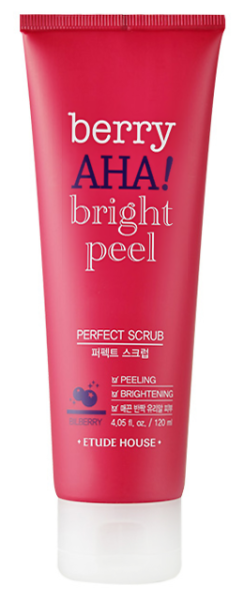 Etude House Berry AHA bright peel Perfect Scrub 120ml