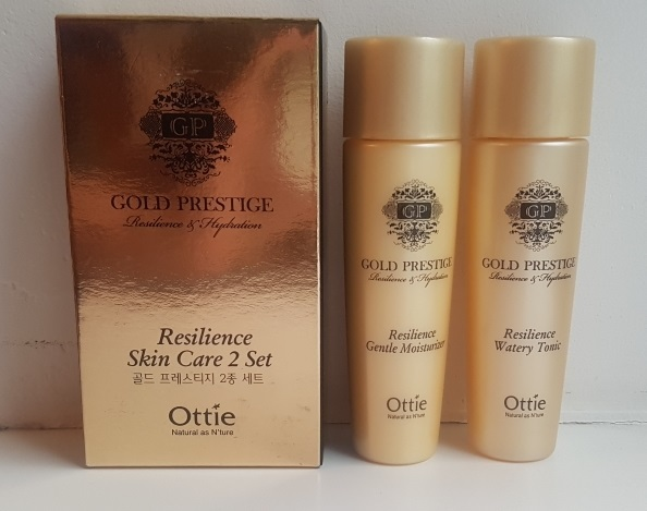 Ottie Gold Prestige Miniature Set (Tonic & Moisturizer) 30ml+30ml