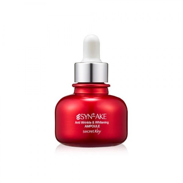 Secret Key SynAke Anti Wrinkle & whitening ampoule 30ml