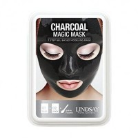 Lindsay  Luxury Aqua Charcoal Magic Mask 65g (15g)