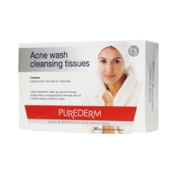 Purederm Acne Wash cleansing tissues 30ea