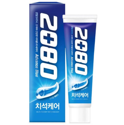 Aekyung 2080 Advance Blue Toothpaste Scrub Essence 120g