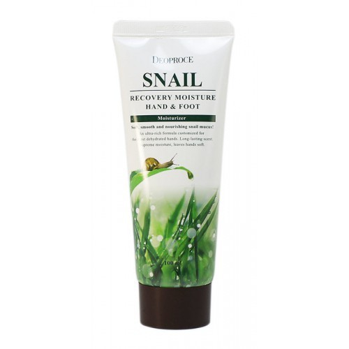 Deoproce Moisture Hand & Foot Snail Recovery 100ml