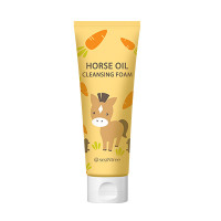 SeaNTree Horse Oil 100 Cleansing Foam 120ml