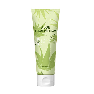 SeaNTree Aloe 100 Cleansing Foam 120ml