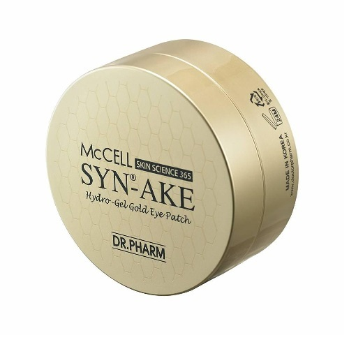 Dr.Phamor McCELL SKIN SCIENCE 365 Syn-Ake Hydro-Gel Gold Eye Patch 60ea