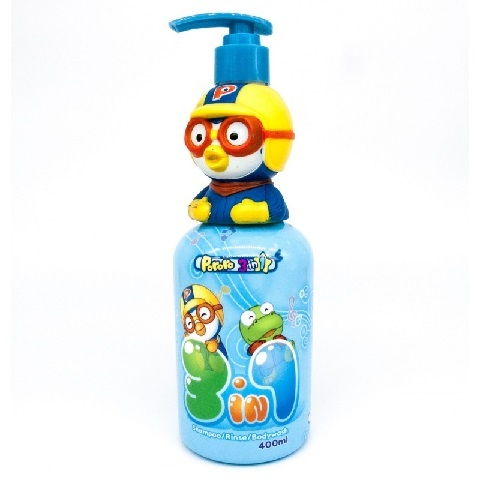 Pororo 3 in 1 (shampoo, rince, bodywash) 400ml