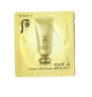 The history of Whoo Gongjinhyang Mi Luxury BB Cream SPF 20/PA++ 1ml