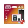 Карта памяти Goodram MicroSDHC 32GB Class 10 + SD-adapter