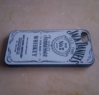 Пластиковый чехол для iPhone 5 5S Jack Daniel's Old Time No.7 Brand Quality Jennessee Белый