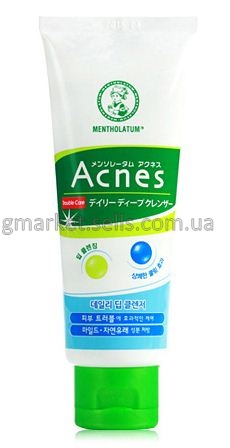 Скраб Mentholatum Acnes Medicated Daily Facial Scrub