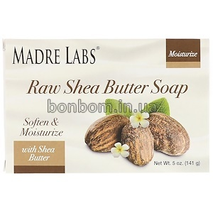 Мыло с маслом ши и витамином Е Madre Labs Raw Shea Butter Soap