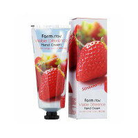 Крем для рук Farm Stay Visible Difference Hand Cream Strawberry