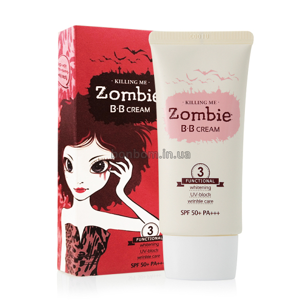 ВВ крем Welcos Killing Me Zombie BB Cream SPF 50+ PA+++