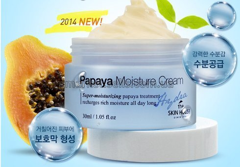 Крем для лица The Skin House Papaya Moisture Cream