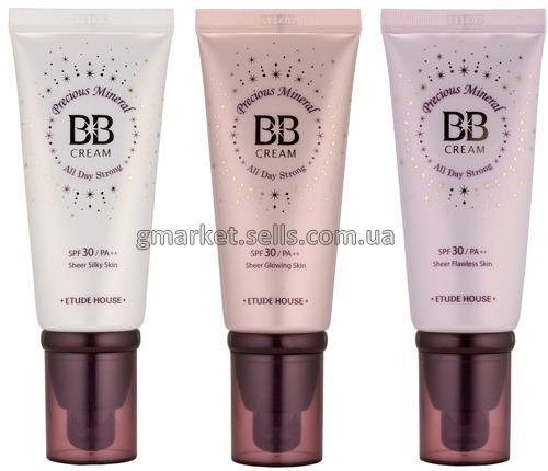 ББ крем Etude Precious Mineral All Day Storong SPF30