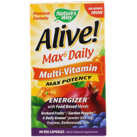 Мультивитамины Nature's Way Alive! Max6 Daily Multi-Vitamin
