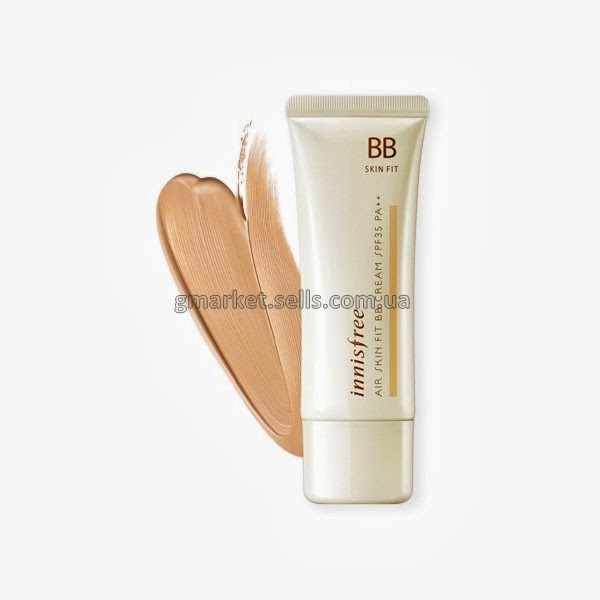 Супер легкий ББ крем Innisfree Air Skin Fit BB Cream