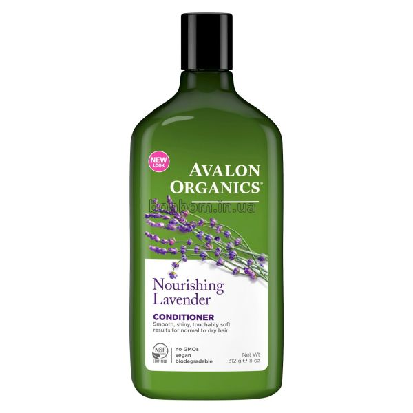Кондиционер питательный Avalon Organics Nourishing Lavender Conditioner