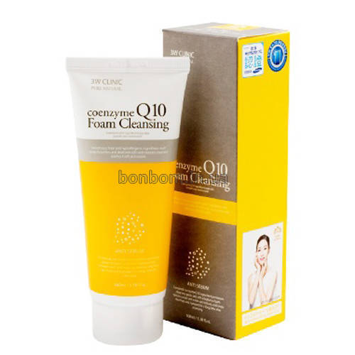 Очищающая пена 3W CLINIC Coenzyme Q10 Foam Cleansing