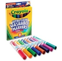 Смываемые маркеры Crayola Washable Markers Broad Point