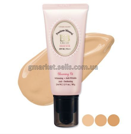 ББ крем ETUDE HOUSE Precious Mineral BB Cream Blooming Fit SPF30