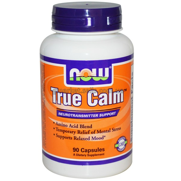 Комплекс витаминов, поддерживающий нервную систему Now Foods True Calm