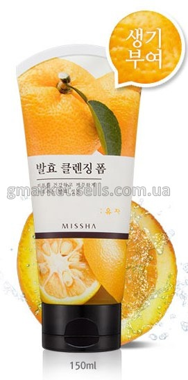 Пенка для умывания Missha Citron Fermentation Cleansing Foam