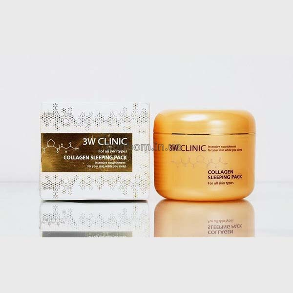 Коллагеновая ночная маска 3W CLINIC Collagen Sleeping Pack