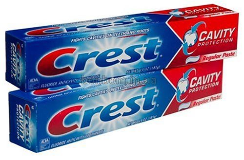 Зубная паста Crest Cavity Protection Toothpaste